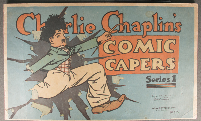 Charlie Chaplin's comic capers [Page 1]