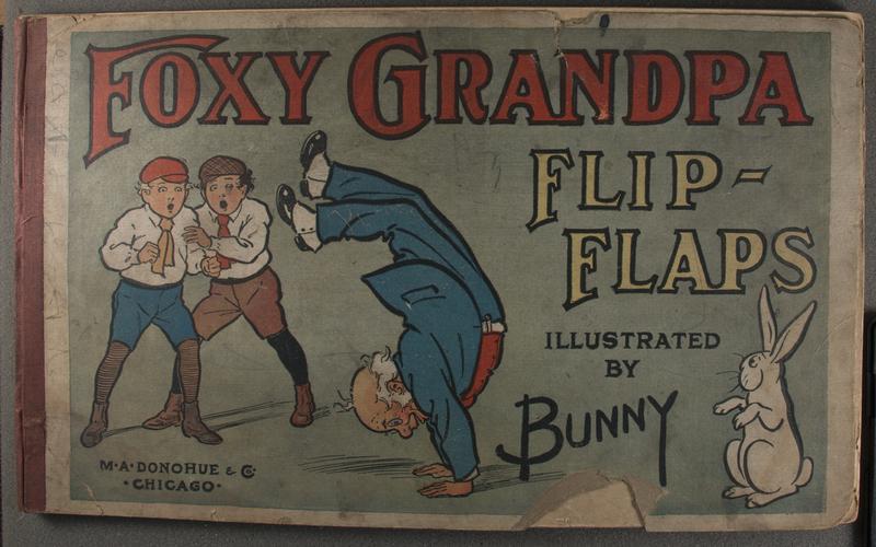 Foxy Grandpa flip-flaps [Page 1]